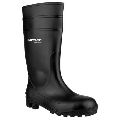 Dunlop Protomastor Safety Wellingtons Black